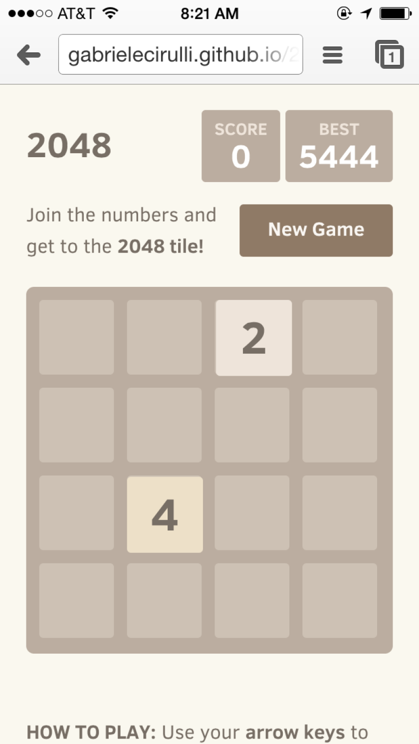 Maker of hit puzzle game '2048' says he created it over a weekend