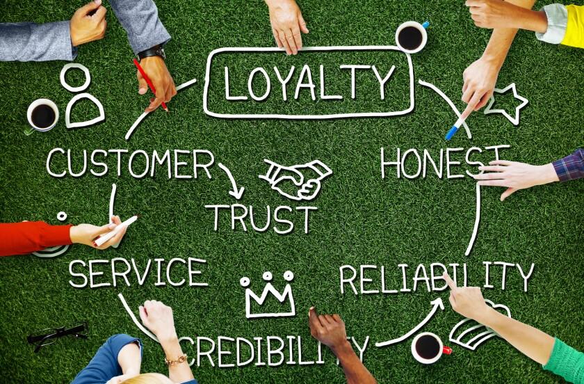 Loyalty Customer Service Trust Honest Reliability Concept