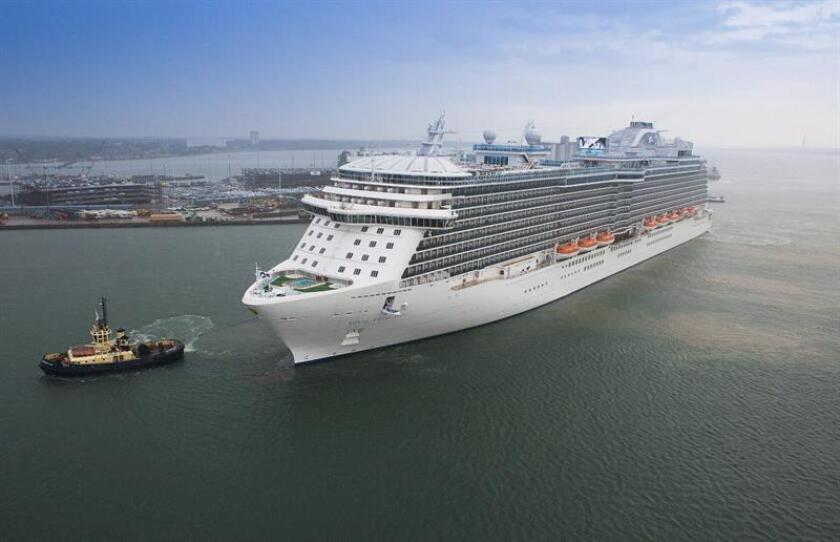 Un crucero de la compañía Princess Cruises retornó este sábado al puerto de Fort Lauderdale días después de que una mujer estadounidense muriera a bordo por causas que son materia de investigación del FBI. EFE/ARCHIVO/SÓLO USO EDITORIAL/NO VENTAS