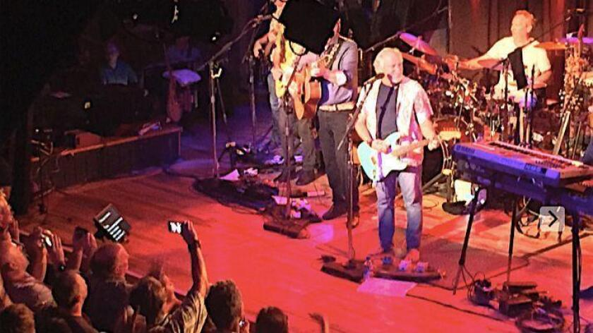 Jimmy Buffett and his band, the Coral Reefers, perform Tuesday at the Belly Up Tavern in Solana Beach.
