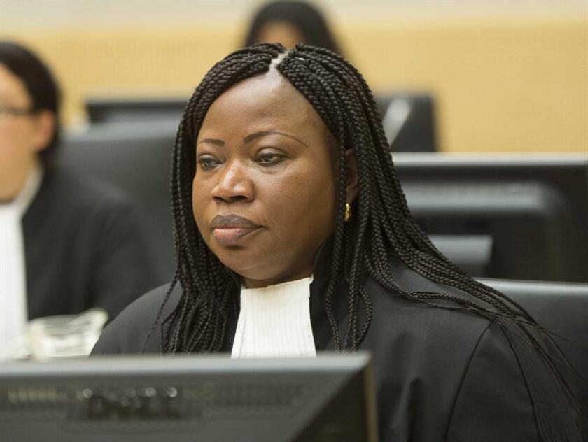 La fiscal general de la Corte Penal Internacional (CPI), Fatou Bensouda. EFE/Archivo