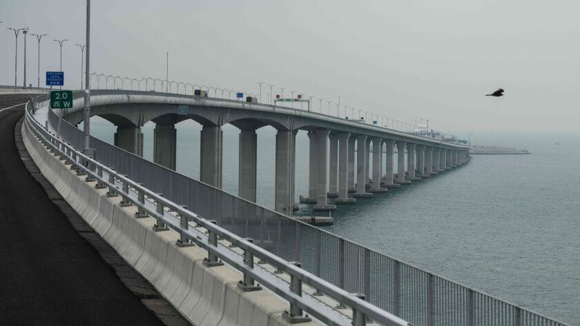 HONG KONG-CHINA-MACAU-BRIDGE-TRANSPORT