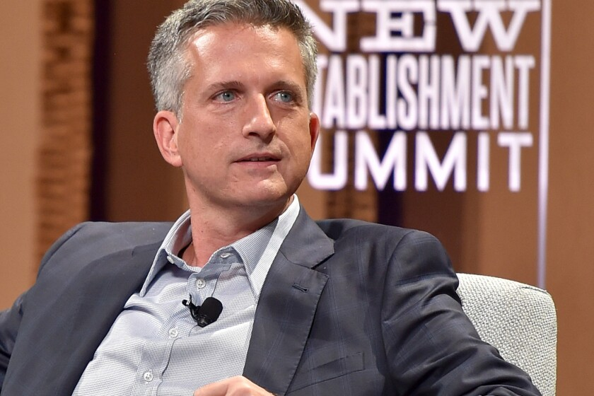 """SAN FRANCISCO, CA - OCTOBER 07: HBO's Bill Simmons speaks onstage during """"Ahead of the Curve - The Future of Sports Journalism"""" at the Vanity Fair New Establishment Summit at Yerba Buena Center for the Arts on October 7, 2015 in San Francisco, California. (Photo by Mike Windle/Getty Images for Vanity Fair)"""