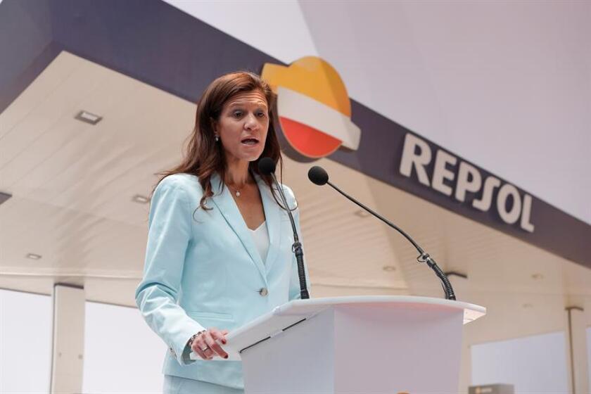 La directora general de Downstream (refinación y comercialización) de Repsol, María Victoria Zingoni. EFE/Archivo