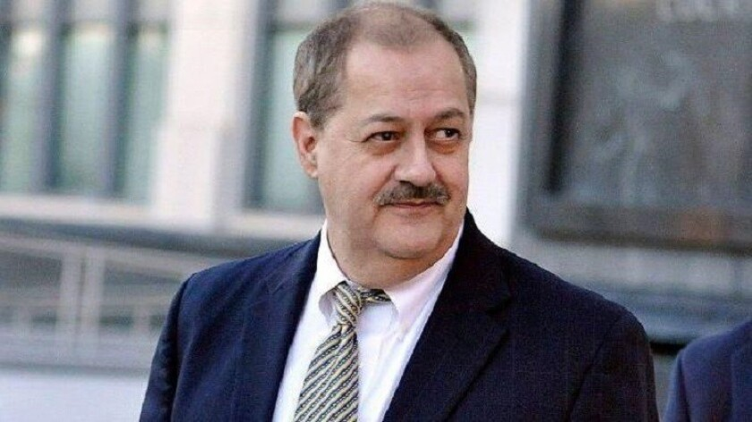 Massey Energy Chief Executive Don Blankenship during his trial in 2015.