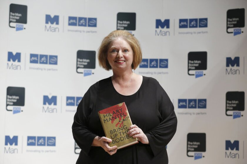 Hilary Mantel wins 2012 Man Booker Prize, her second