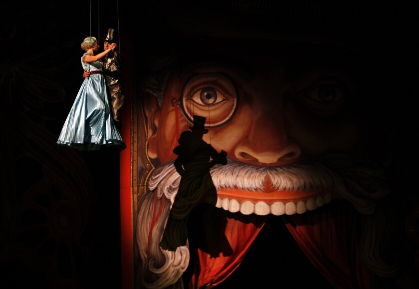 Cirque officials say heavy marketing could not save 'Iris'