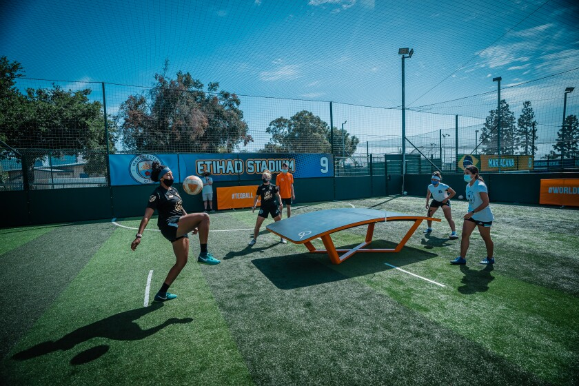 The US Teqball Federation is hosting a world tournament qualifier in San Diego on Saturday.
