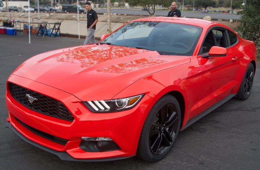 2015 Mustang with 2.3L EcoBoost