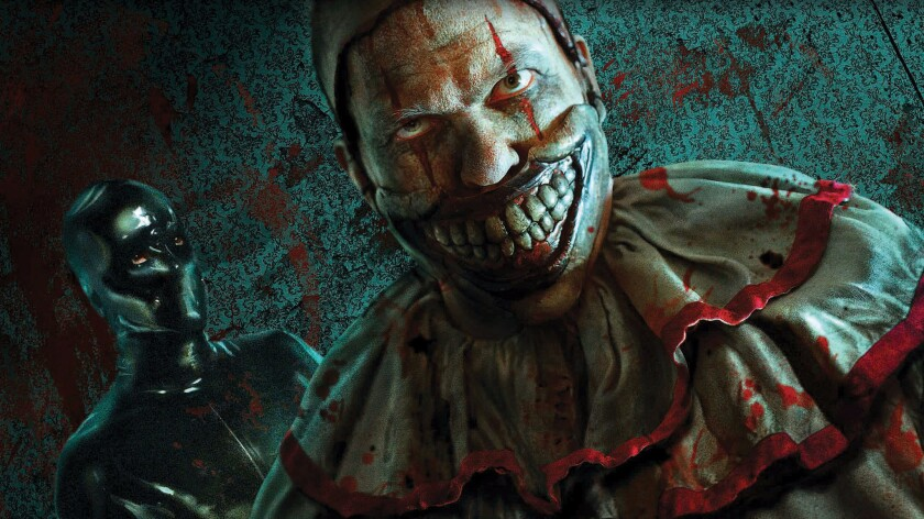 Concept art of the American Horror Story maze coming to Halloween Horror Nights at Universal Studios Hollywood.