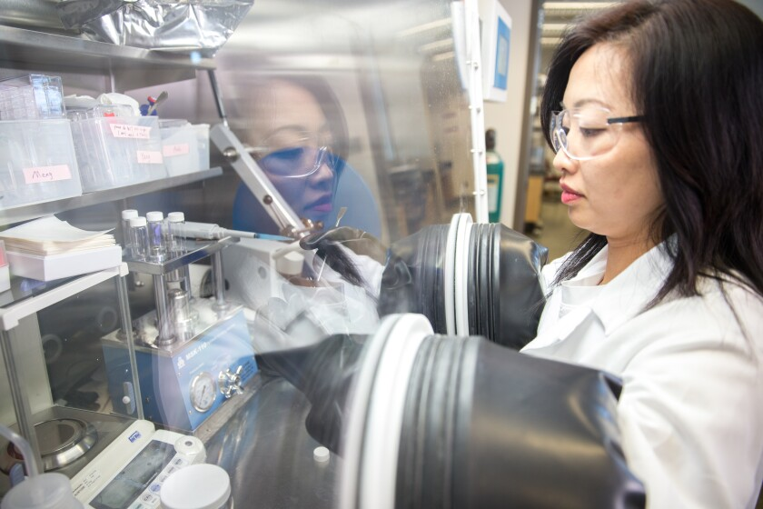 UC San Diego NanoEngineering professor Shirley Meng