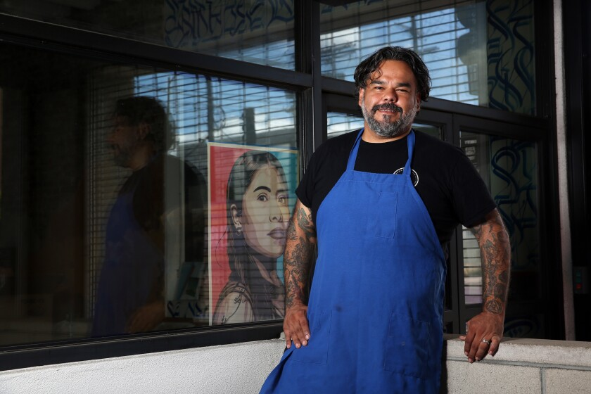 Wes Avila, chef-owner of Guerrilla Tacos