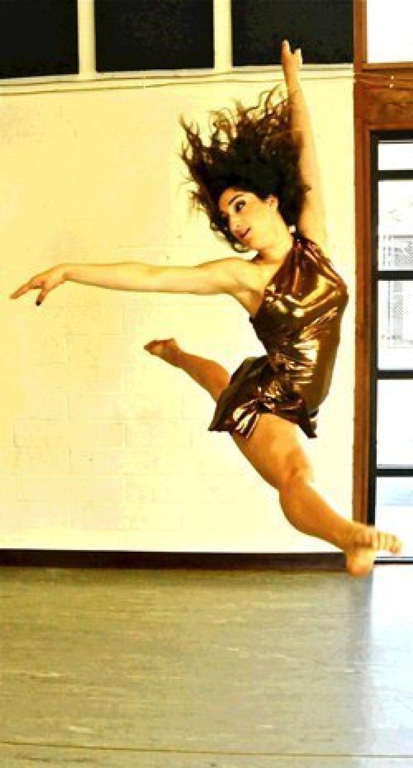 Torrey Pines High School dancer Tara Aftahi