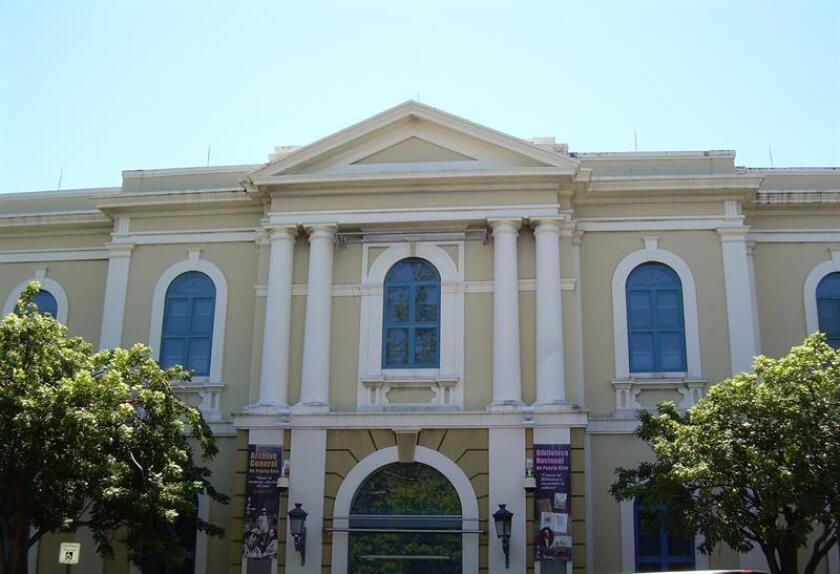 Imagen del Archivo General-Biblioteca Nacional, en San Juan. EFE/Archivo