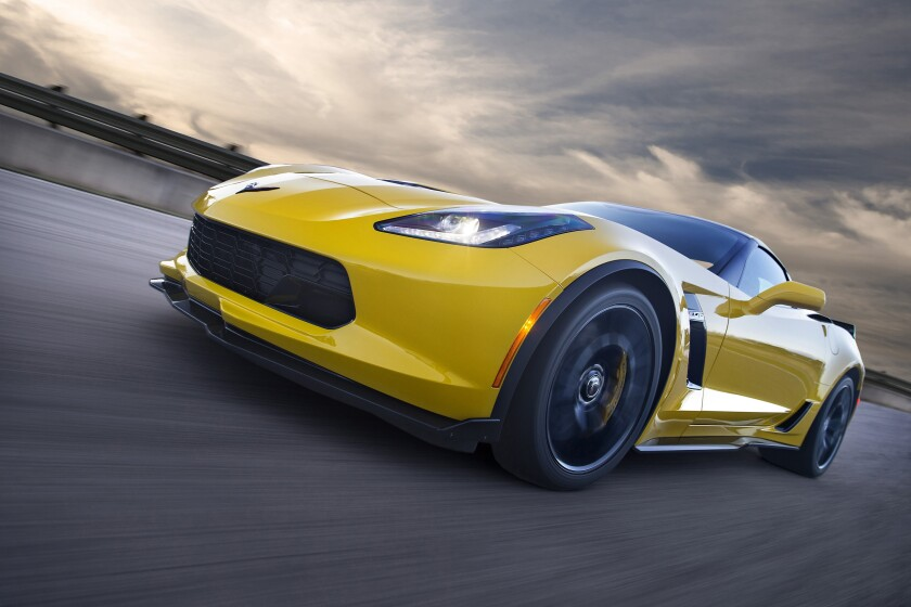 The 650-hp, Chevrolet Corvette Z06 starts at $80,590, including the $1,095 freight charge, and can run to more than $100,000.