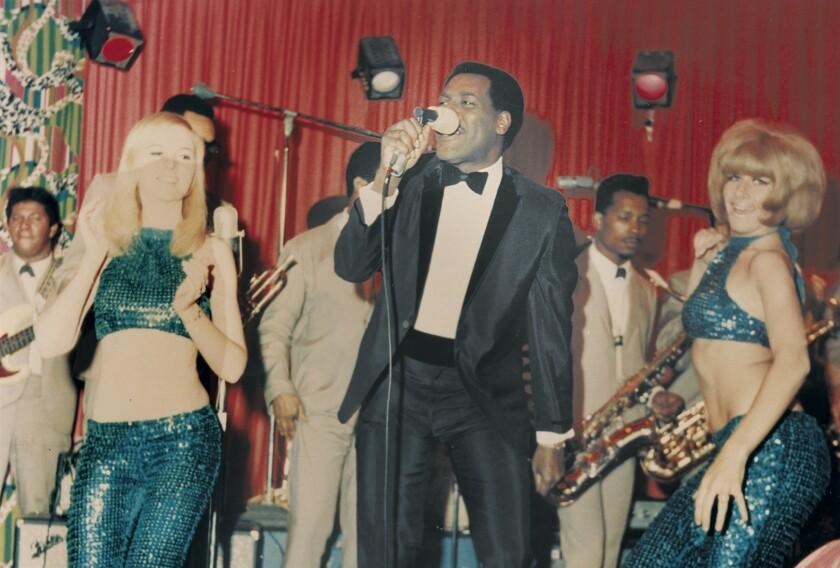 Soul singer Otis Redding