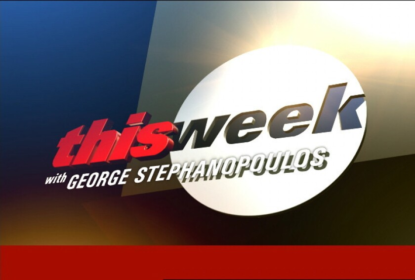 "A logo for ABC's ""This Week"""