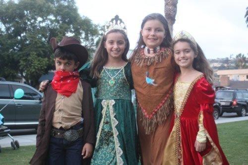 Halloween in La Jolla 10-31-13