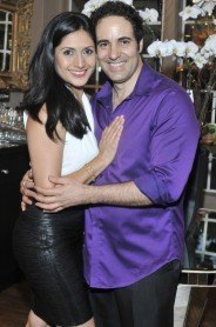 Voila Hair Atelier partners Elizabeth Rubio and Luis Angel