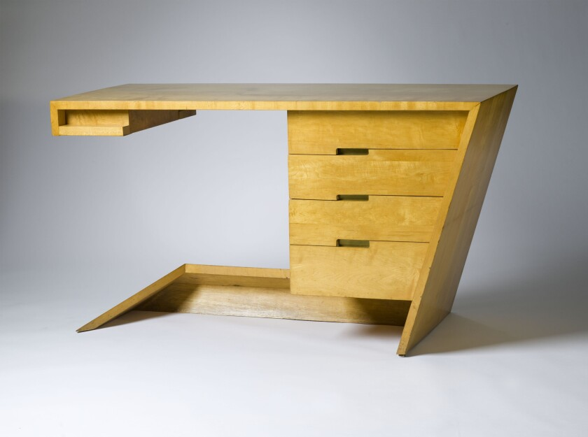 Dan Johnson's Hayden Hall Desk.
