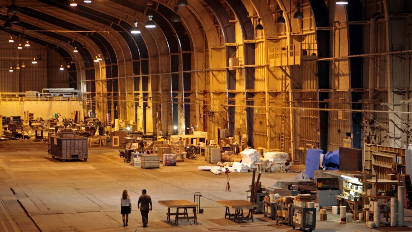 """""""Titanic"""" was among movies filmed in the Spruce Goose hangar."""