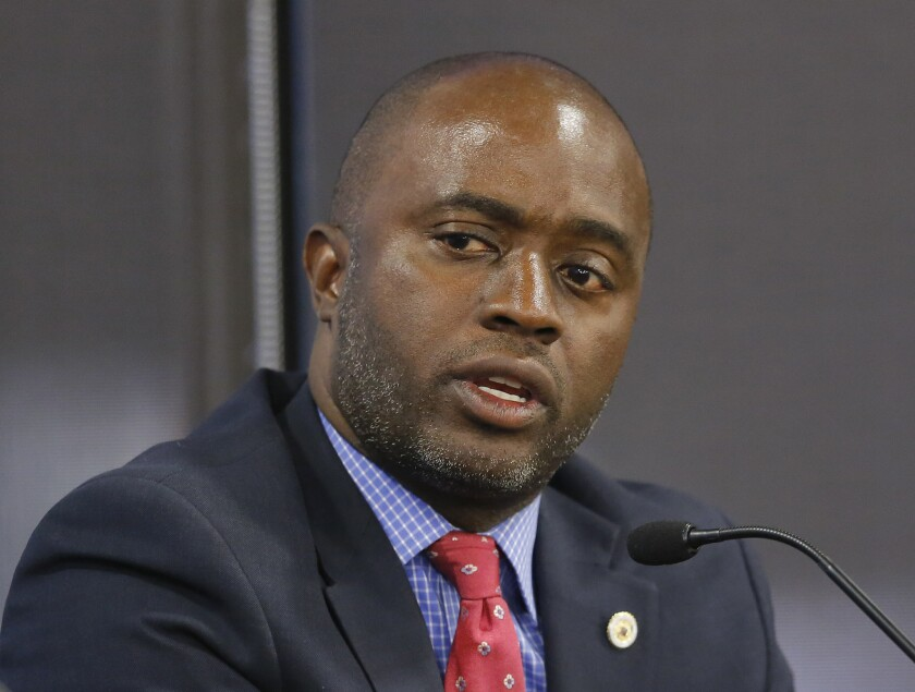 Tony Thurmond in a 2018 file photo.