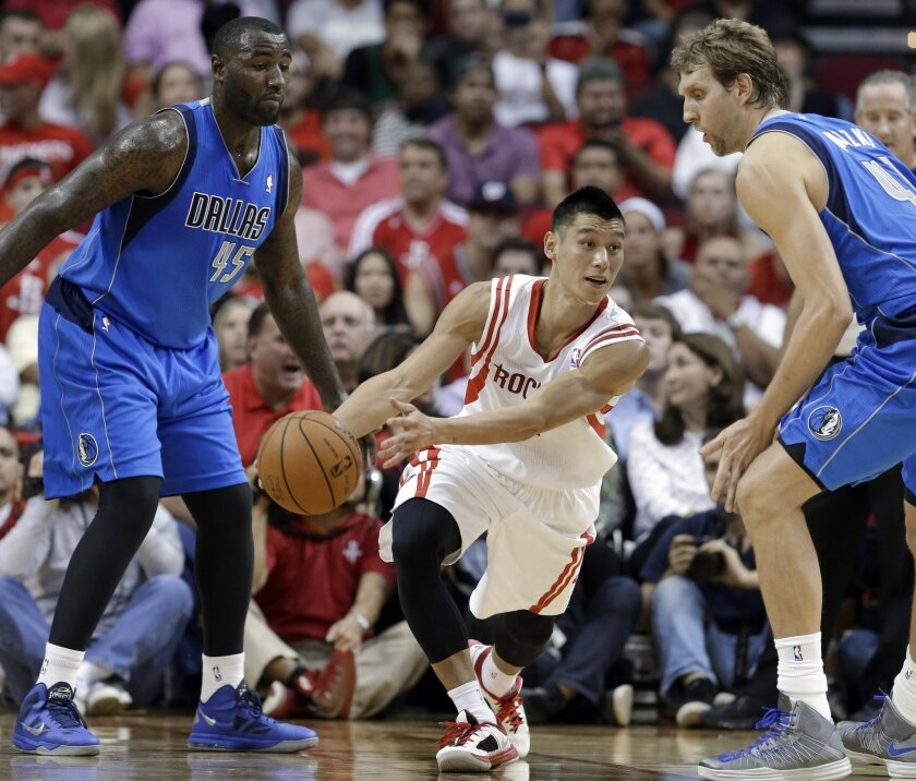 Harden leads Houston over Dallas 113-105 - The San Diego