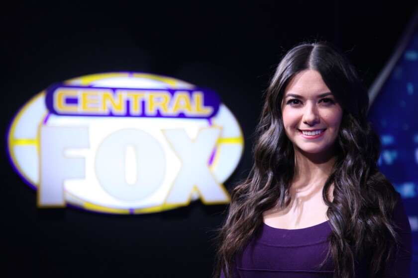 Pilar Pérez es presentadora de TV.