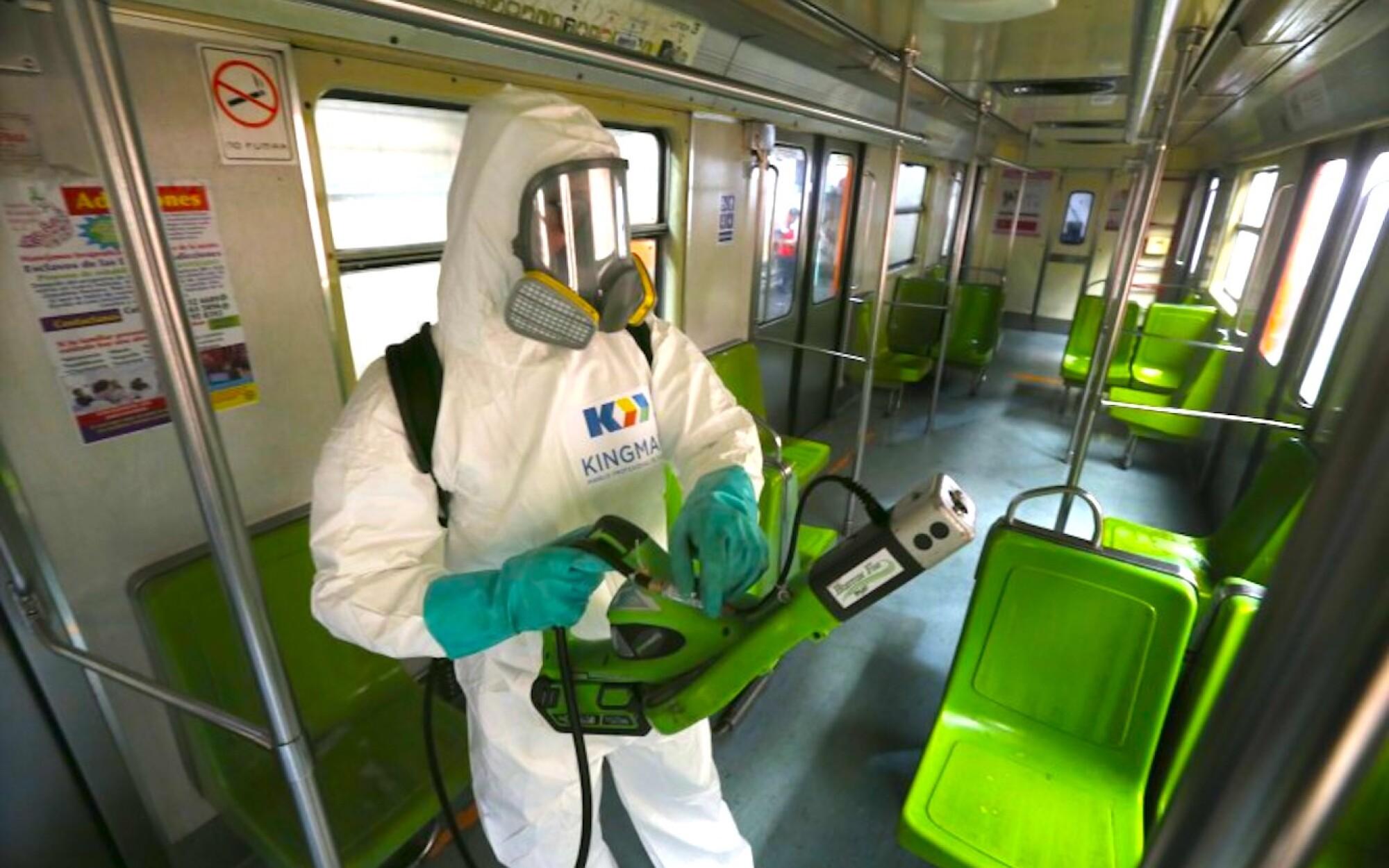 Trabajadores del Metro en CDMX con COVID al igual que su directora
