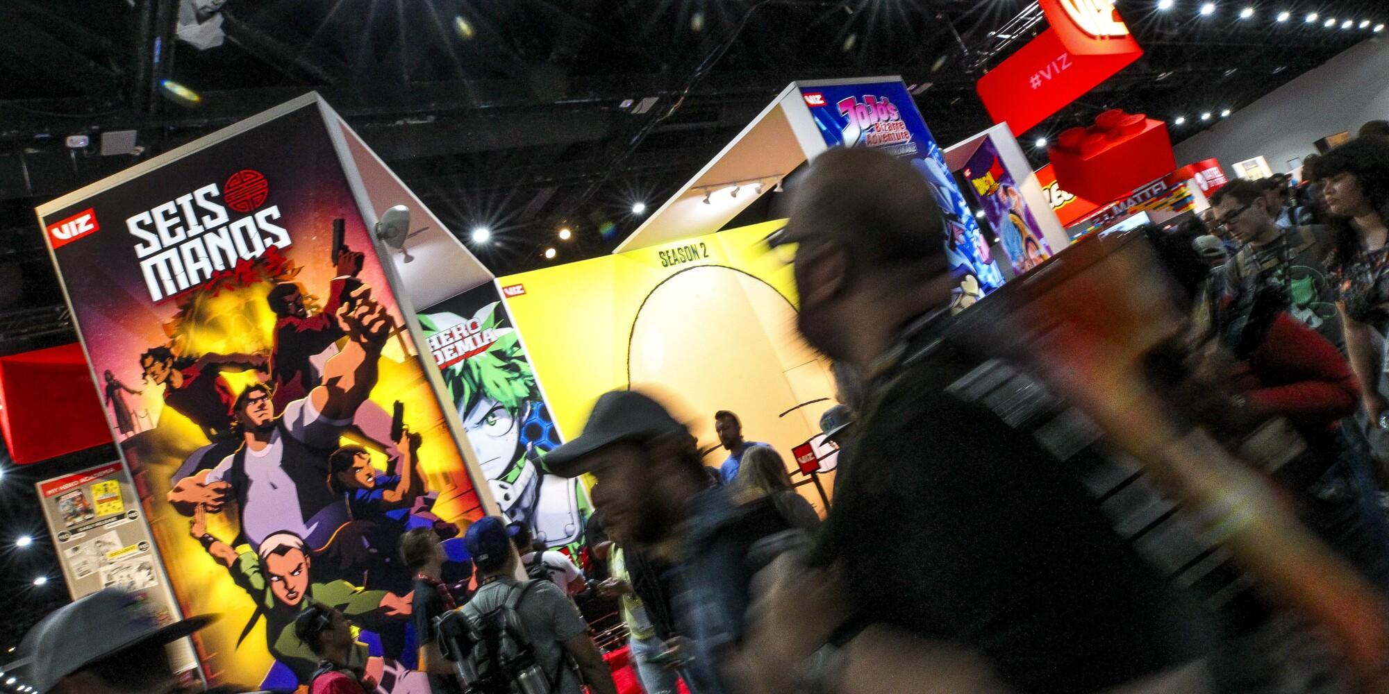 Comic-Con, Saturday