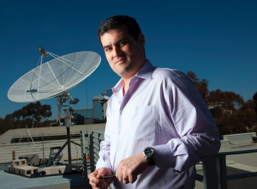 UC San Diego's Brian Keating helped capture subtle signs of the early moments of the universe.