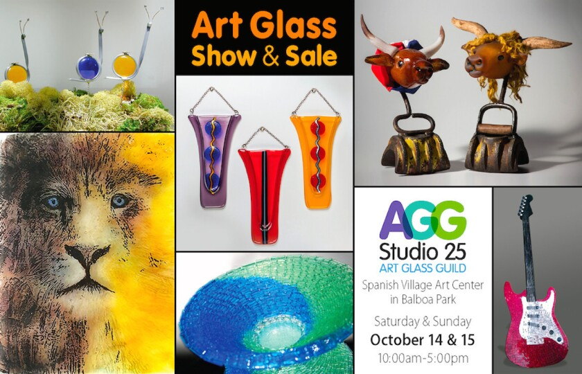 Art Glass Guild Fall Show & Sale at Balboa Park. (Courtesy photo)
