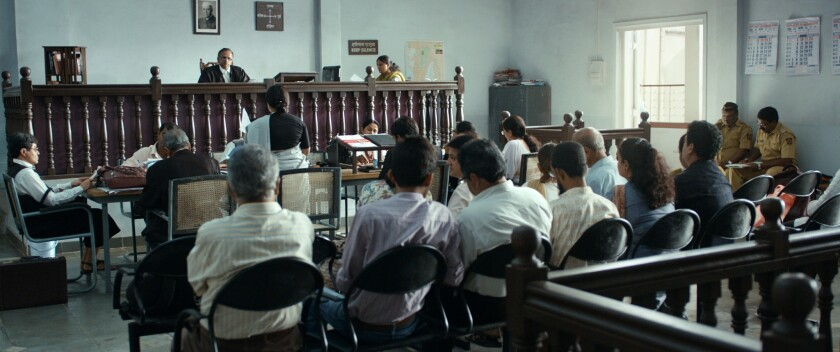 """""""Court,"""" directed by Chaitanya Tamhane, has won two prizes at the Venice Film Festival. Now it's India's entry for the Oscars."""