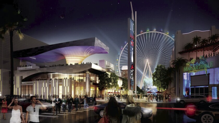 The High Roller at the Linq.