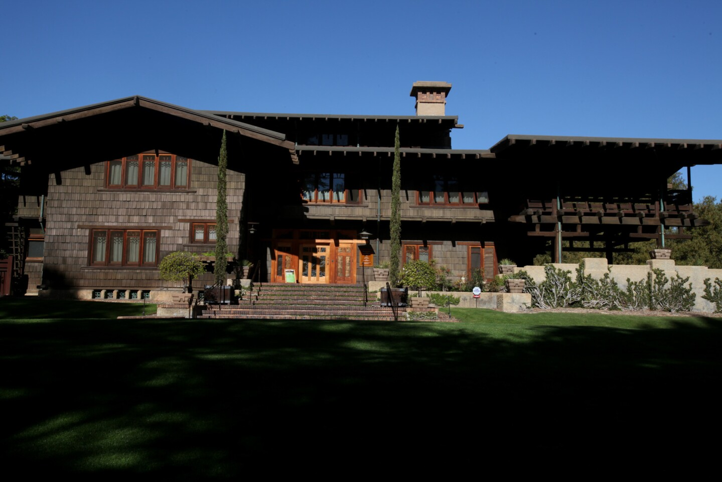 """The Gamble House in Pasadena, a Craftsman masterpiece designed by architects Greene & Greene, is offering """"Upstairs Downstairs"""" tours of servants' quarters July 30-Aug. 16."""