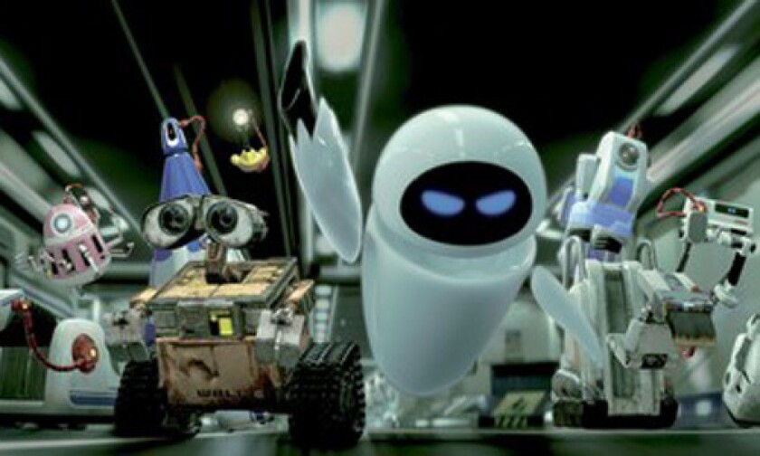 'WALL-E' WORLD: The G-forces in this flick seem tied to its MPAA rating.
