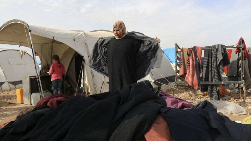 SYRIA-CONFLICT-HEALTH-WEATHER-DISPLACED