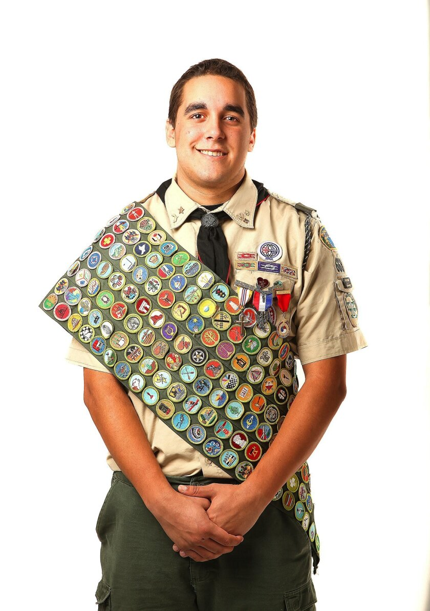Escondido Eagle Scout earned all 140 merit badges - The San