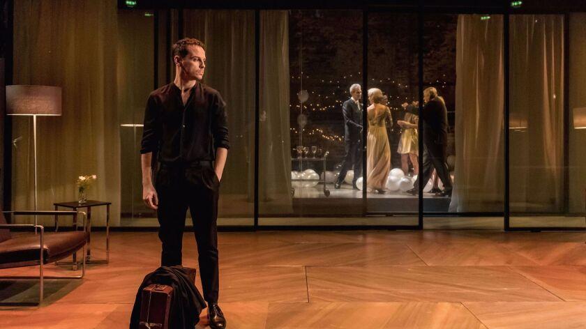 Andrew Scott as Hamlet in London.