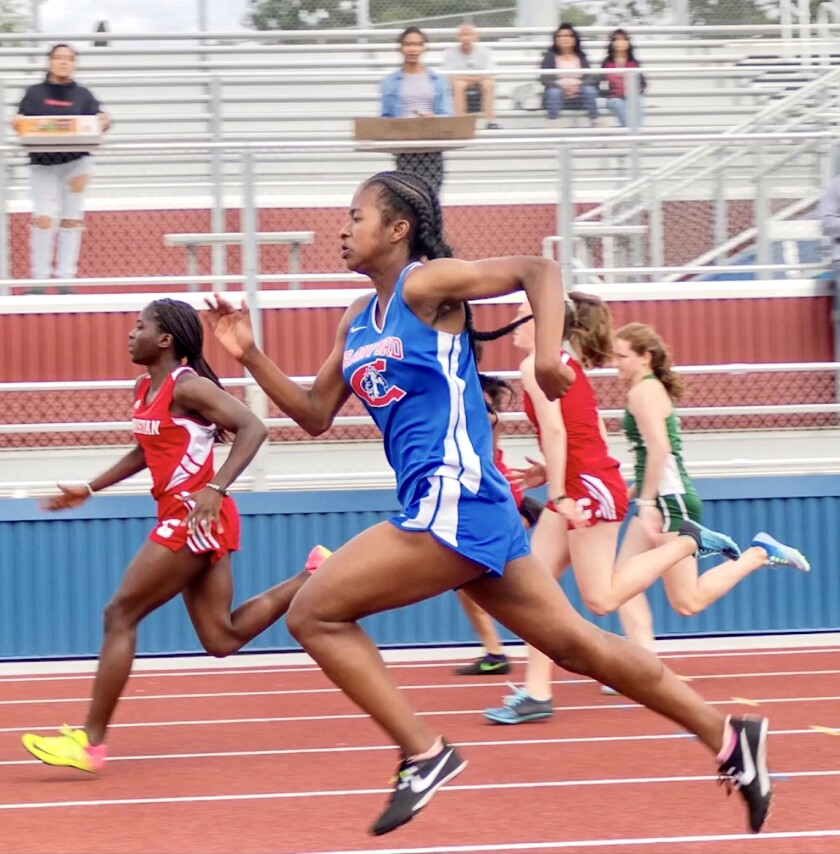 Crawford High senior Saniyah Starks became the first girl at school in at least four decades to earn Division I scholarship.
