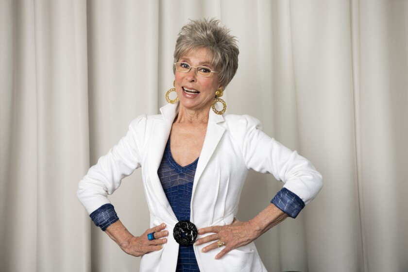 Born Rosa Dolores Alverio in Puerto Rico to a seamstress mother and farmer father, Rita Moreno went on to become a singer, dancer and actress -- bursting with major talent. She is one of only a few to receive four major annual American entertainment awards: the Emmy, Grammy, Oscar and Tony, classifying her as an EGOT. Here, we take a look at just a few of Moreno's career highlights. Hey, you guys, let's get started.