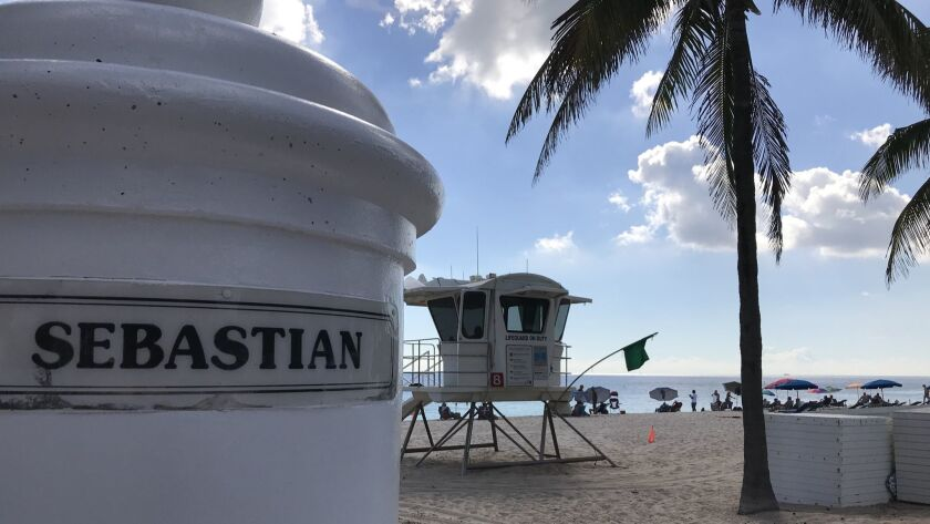 "The ""gay beach"" is on A1A at Sebastian Street, near the Ritz-Carlton hotel. The area is unofficially"