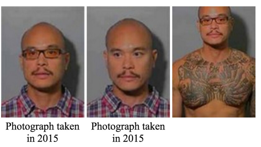 An FBI wanted poster shows Philip Patrick Policarpio, who was added to the agency's 10 Most Wanted list on May 19.
