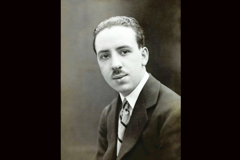YOUNG MAN: Alfred Hitchcock in 1920.
