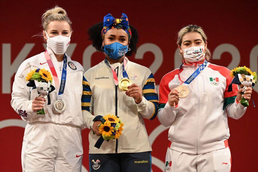Medallistas en Tokio
