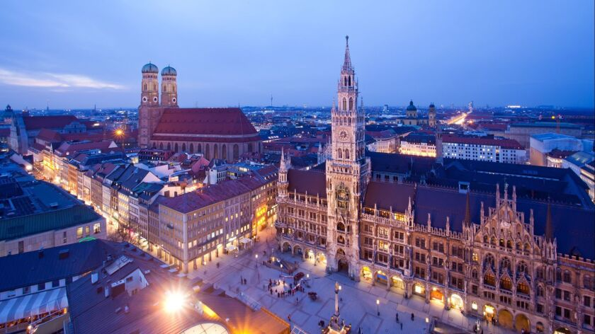 Munich at the evening