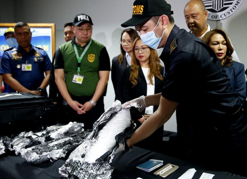 Philippines Seized Illegal Drug