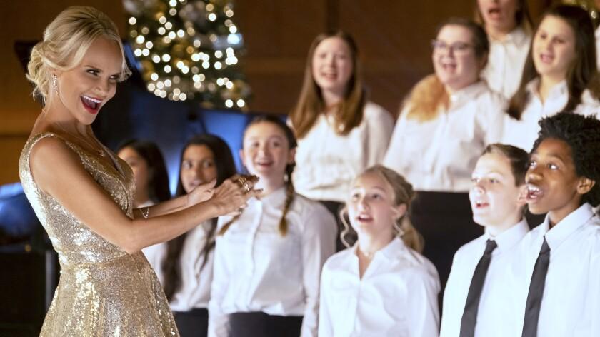 "Kristin Chenoweth stars in the new holiday movie ""A Christmas Love Story"" on Hallmark."