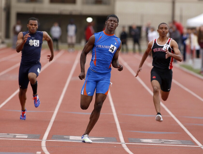 Column: In an Olympic year, there's no shortage of Southland high school stars in track and field