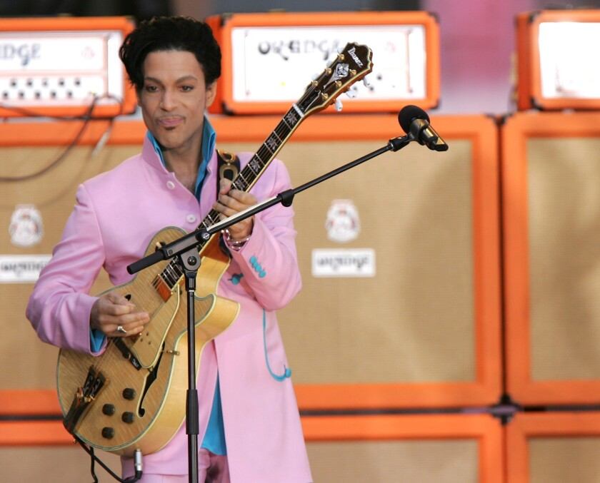 "Speaking of his relationship with the music business, Prince said, ""If you don't own your masters, the master owns you."""